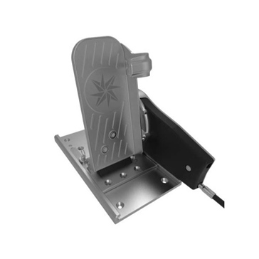 SEASTAR SOLUTION Pro-Pedal Foot Throttle and Adjustable Slider Plate