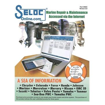 SIERRA SelocOnline - 3 Year, Single Engine Subscription 18-05004