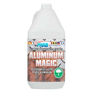 Captain Phab  Nettoyant Aluminum Magic 4 L / 1.05 G