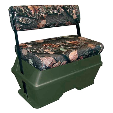 Moeller Deluxe Swing Back Cooler/Livewell/72 Gallons Seat Bench