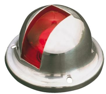 Side Lights - No - Silver SEA DOG 12V Navigation Light