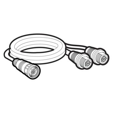 HUMMINBIRD Transducer Adapter Cable 14 M SIDB Y Solix