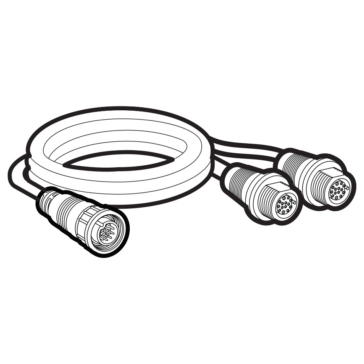 Solix HUMMINBIRD Transducer Adapter Cable 14 M SILR Y