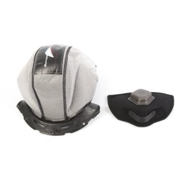 BELL Ensemble de doublures pour casque Moto-8 Blanc, Noir