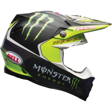 BELL Casque Hors-Route Moto-9 Flex Monster Pro Circuit