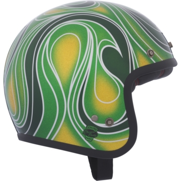 Chemical Candy Mean Vert BELL Custom 500 2.0 Open-Face Helmet