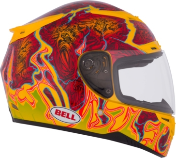 Bell RS 1 Full-Face Helmet Air Trix Melt Down