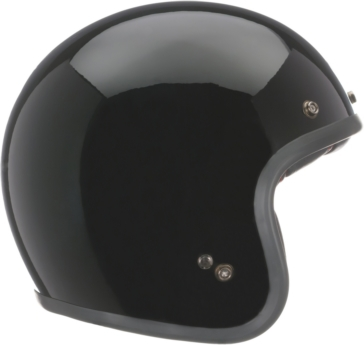Solid BELL Custom 500 Open-Face Helmet