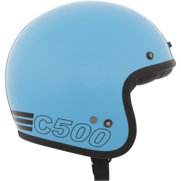 Retro BELL Custom 500 Open-Face Helmet