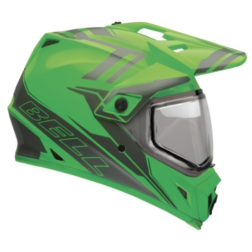 2 Colors BELL MX-9 Adventure Off-Road Helmet, Snow