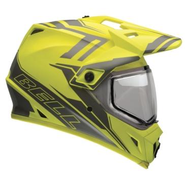 2 Colors BELL MX-9 Adventure Off-Road Helmet, Snow