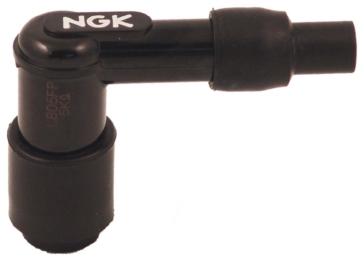 NGK Connecteur de bougie à résistance Coude 90° - LB05FP