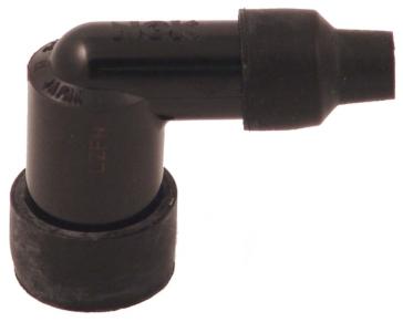 Elbow 90° NGK Spark Plug Resistor Connector