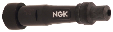 Straight NGK Spark Plug Resistor Connector