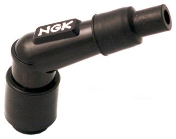 NGK Connecteur de bougie à résistance Coude 120° - YB05FP