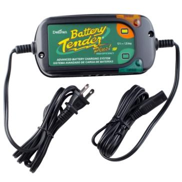 Battery Tender Chargeur de batterie 12 V Tender Plus Haute efficacité - 900651