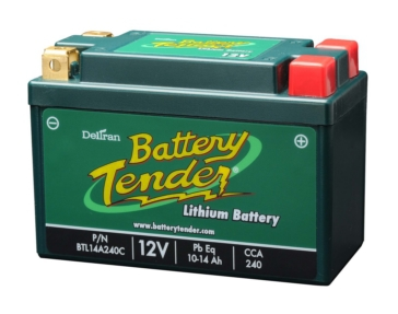 BTL14A240C BATTERY TENDER 12 V Lithium Iron