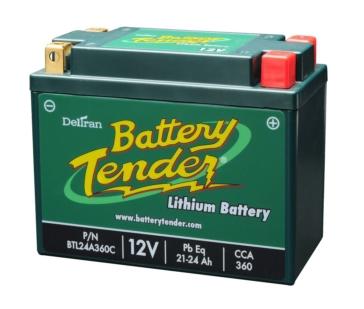 Batterie au lithium-ion 12 V BATTERY TENDER BTL24A360C