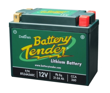 Battery Tender Batterie au lithium-ion 12 V BTL24A360C