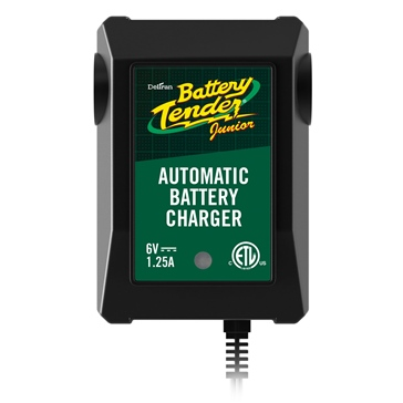 BATTERY TENDER 6V/1.25A Junior Battery Charger