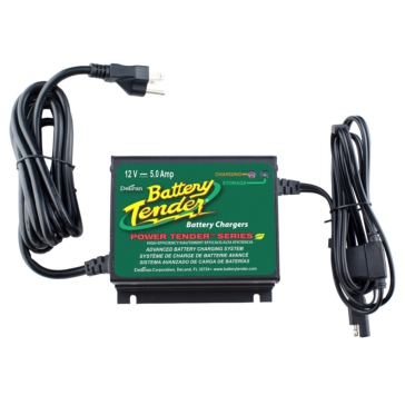 Chargeur de batterie PLUS 12V/5A BATTERY TENDER