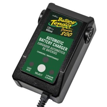 Battery Tender Chargeur de batterie Junior 800 Junior haute efficacité - 900676