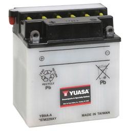 Yuasa Battery YuMicron YB9A-A