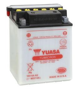 YUASA Batterie YuMicron YB14A-A2