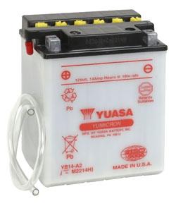 Yuasa Battery YuMicron YB14-A2