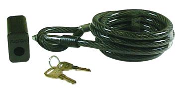 Câble de verrouillage Gorilla Guard avec clé FULTON WESBAR Assurer une protection additionnelle