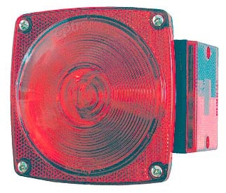 "Optronics Submersible Under 80"" Trailer Light Red"
