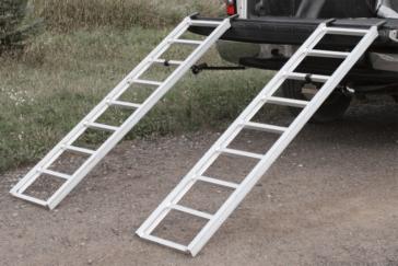 YUTRAX Rampe de chargement utilitaire