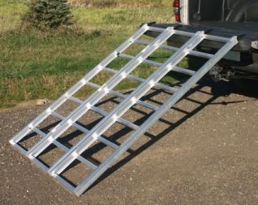 Rampe de chargement en aluminium YUTRAX