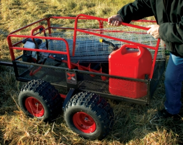 YUTRAX Off-Road 4-Wheel Trailer