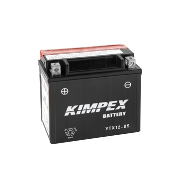 YTX12-BS-PP KIMPEX Maintenance Free Battery