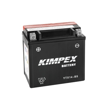 Kimpex Maintenance Free Battery YTX14-BS-PP