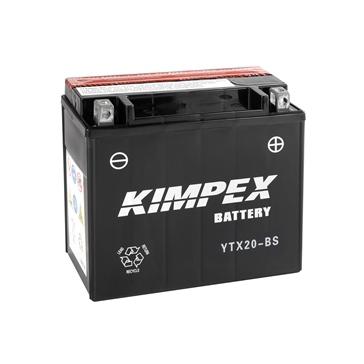 Kimpex Battery Maintenance Free AGM YTX20-BS