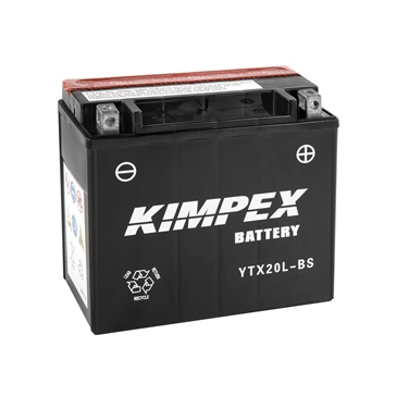 YTX20L-BS-PP KIMPEX Maintenance Free Battery