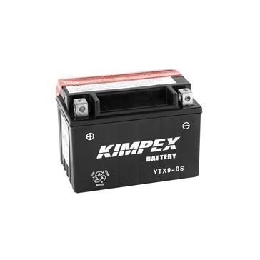 Batterie sans entretien KIMPEX YTX9-BS-PP