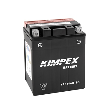 Kimpex Batterie Haute Performance AGM sans entretien YTX14AH-BS