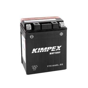 Kimpex Batterie Haute Performance AGM sans entretien YTX14AHL-BS