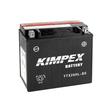 Kimpex Battery Maintenance Free AGM High Performance YTX20HL-BS