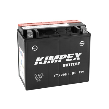 Kimpex Battery Maintenance Free AGM High Performance YTX20HL-BS-P