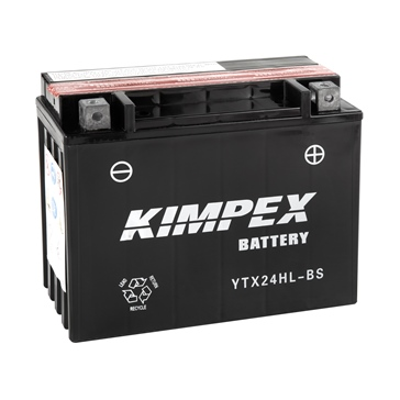 Kimpex Battery Maintenance Free AGM High Performance YTX24HL-BS