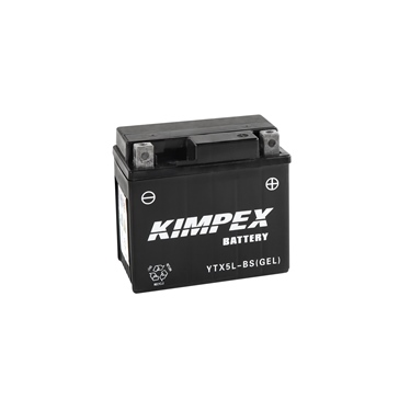 Kimpex Battery Maintenance Free AGM YTX5L-BS(GEL)
