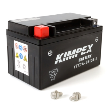 Kimpex Battery Maintenance Free AGM YTX7A-BS(GEL)