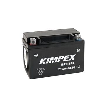 Kimpex Batterie au gel sans entretien activée en usine YTX9-BS(GEL)-PP