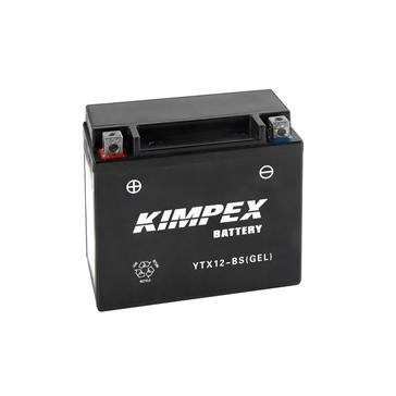 Kimpex Batterie au gel sans entretien activée en usine YTX12-BS(GEL)-PP