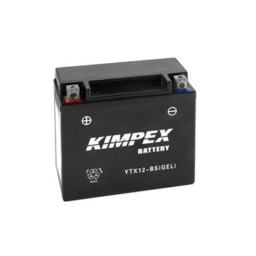 Kimpex Batterie AGM sans entretien YTX12-BS(GEL)
