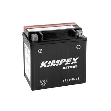 Kimpex Batterie Haute Performance AGM sans entretien YTX14H-BS